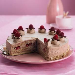 Geburtstagskuchen: Cappuccino-Torte