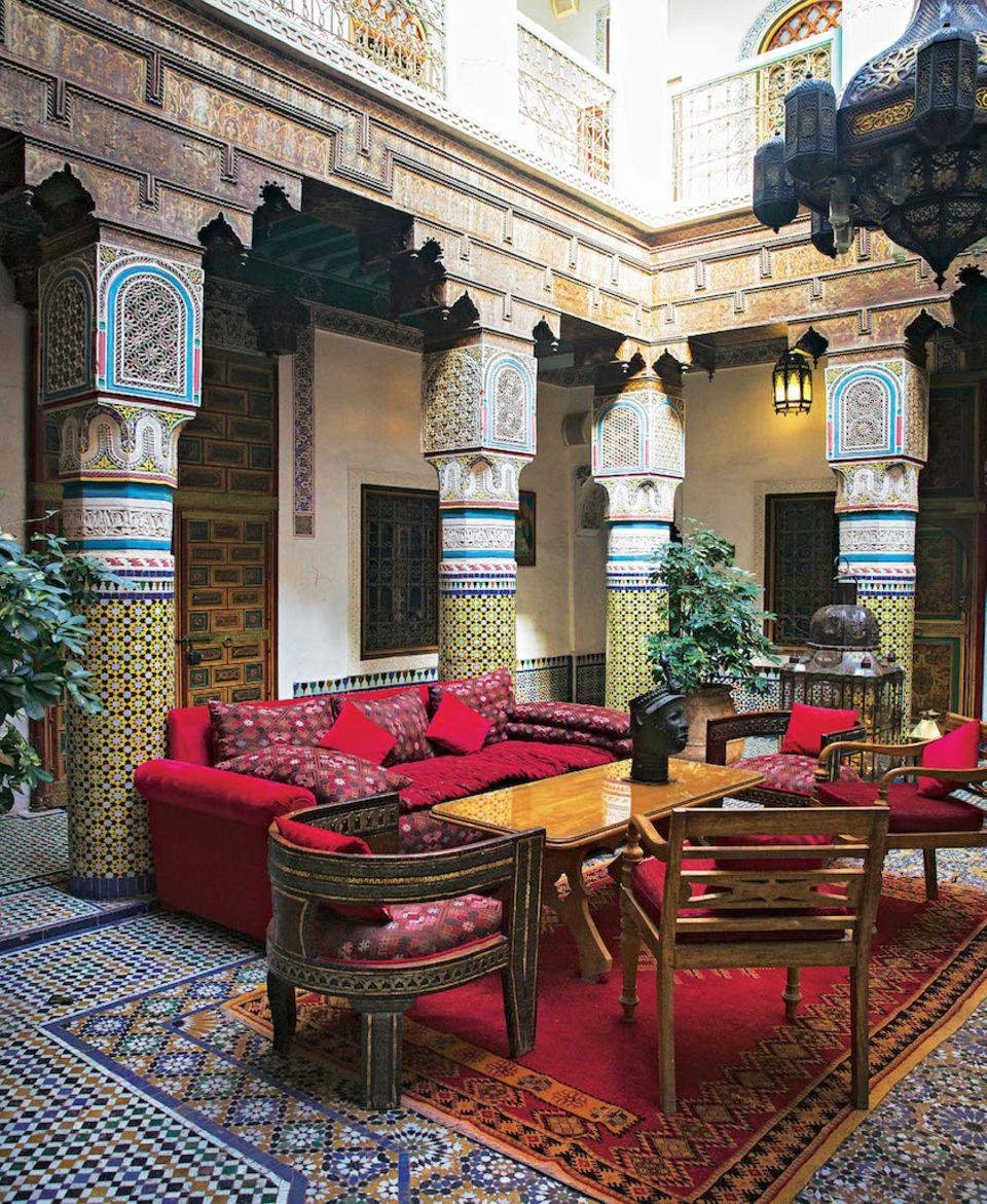 Marrakesch-Tipps: Hotel Riad Palais Sebban in Marrakesch