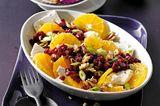 Orangensalat mit Rote Bete, Feta und Walnuss-Crostini