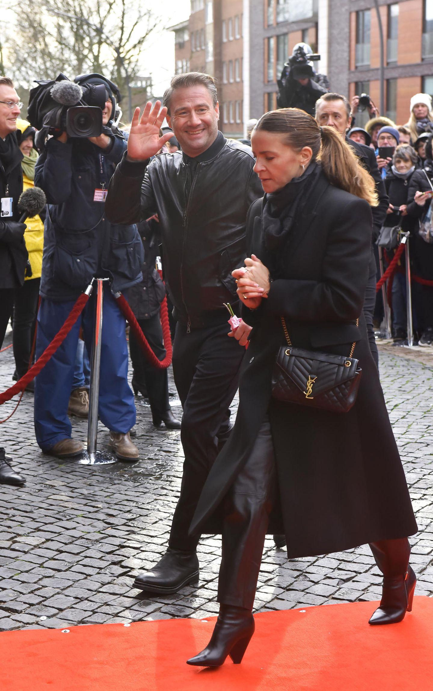 Jan Fedder: Sasha auf Trauerfeier