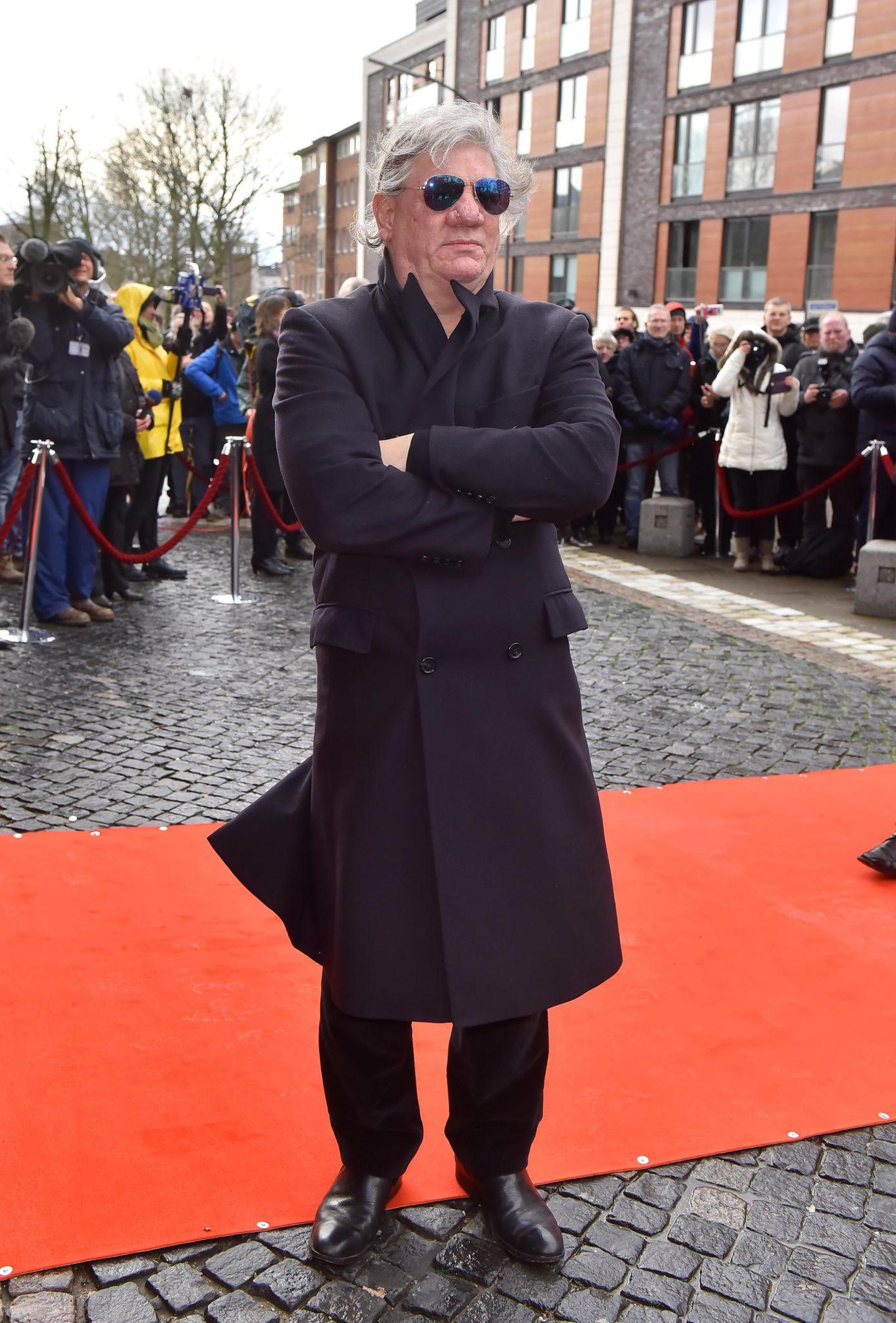 Jan Fedder: Claude Oliver Rudolph auf Trauerfeier