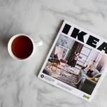 Ikea-Rürckruf: Ikea-Katalog mit Teebecher