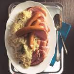 Sauerkrautplatte auf Elsässer Art