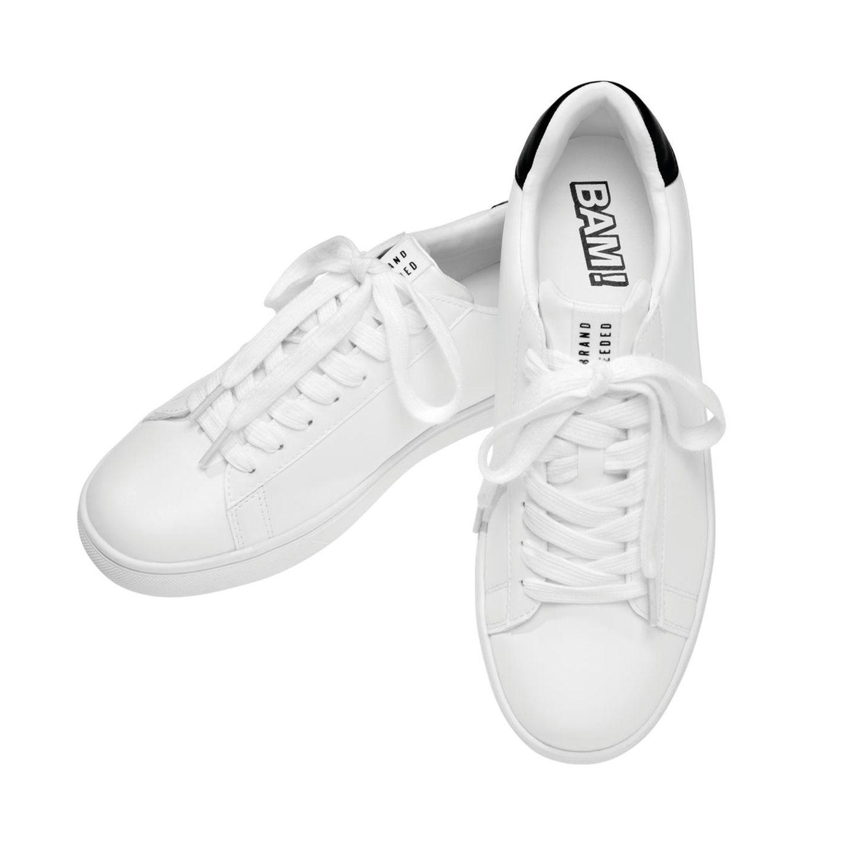 Julien Bam: weiße Sneaker