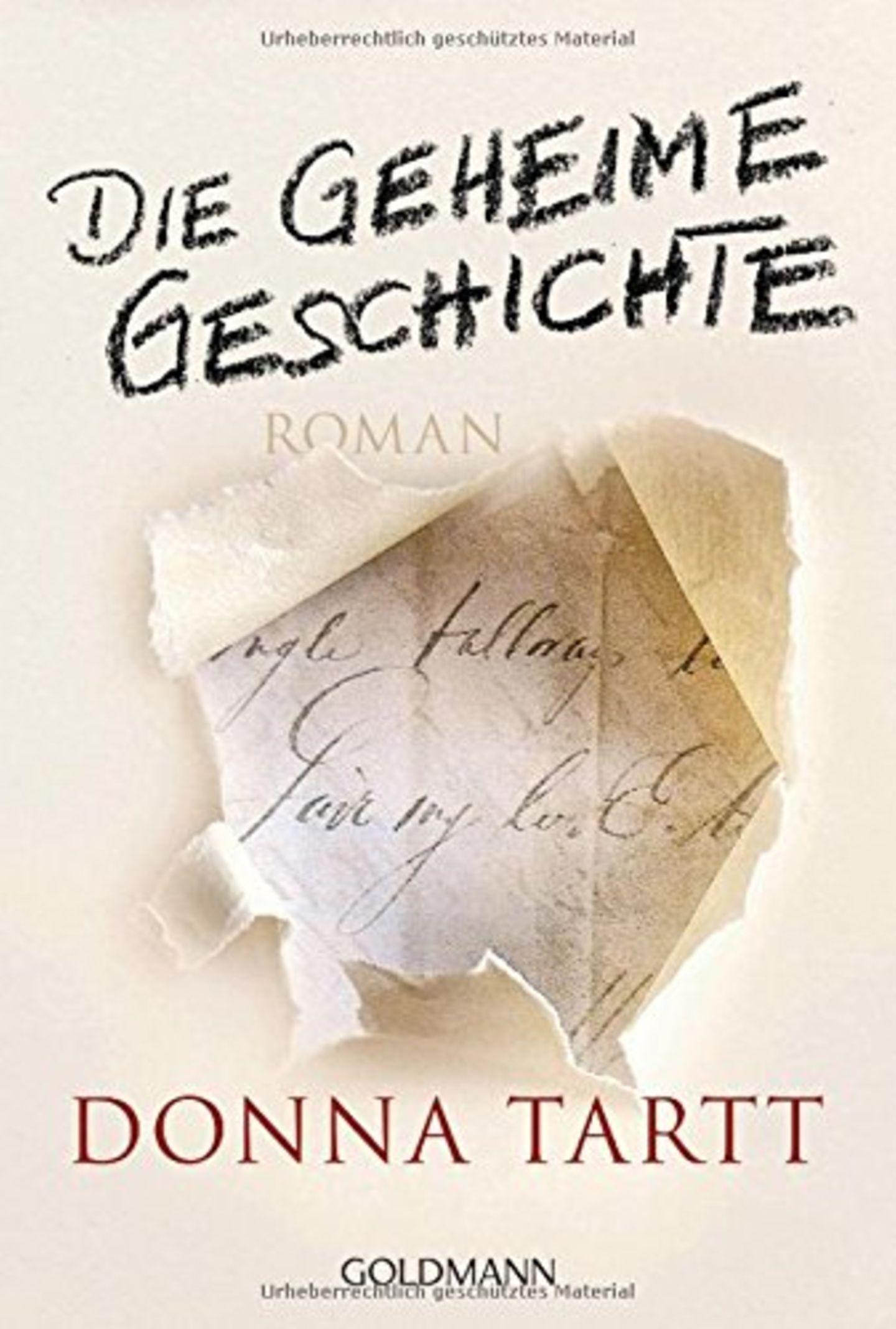"""""""Die geheime Geschichte"""" von Donna Tartt"""