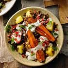 Linsen-Kartoffel-Salat mit Minze