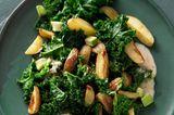 Lauwarmer Grünkohlsalat