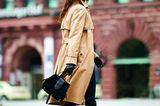 Modetrend Bourgeoisie: Alles andere als spießig! Trenchcoat zur Skinny Jeans