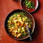 Kartoffelsuppe mit Sellerie-Gremolata