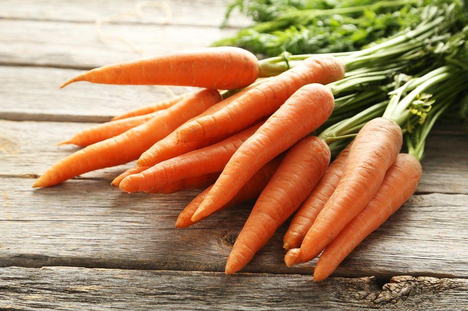 Power-Gemüse: Karotten