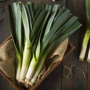 Power-Gemüse: Lauch