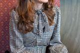 Royals, die günstige Kleidung tragen: Kate Middleton im Hahnentritt-Kleid