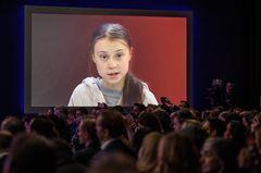 """Greta Thunberg schimpft in Davos: """"So gut wie nichts passiert!"""""""