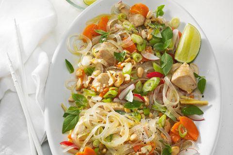Thai-Huhn-Glasnudel-Salat