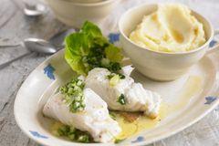 Kabeljau mit Salat-Salsa