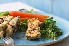 Tofu mit Lauchzwiebel-Salsa