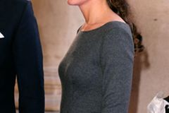 Kate Middleton mit Half Bun