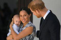 Herzogin Meghan, Baby Archie und Prinz Harry