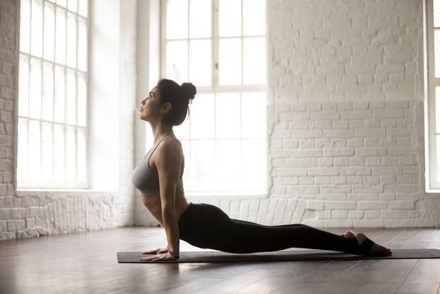 Power-Yoga Kobra