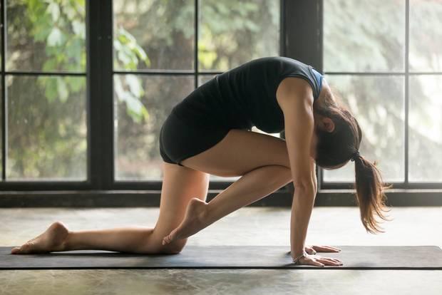 Power-Yoga Wirbelsäulenmobilisation
