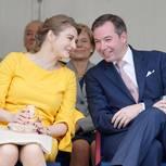 Stephanie und Guillaume von Luxumbourg
