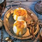 Espresso-Pannacotta mit Mangosoße