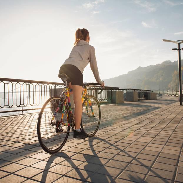Radfahren Training