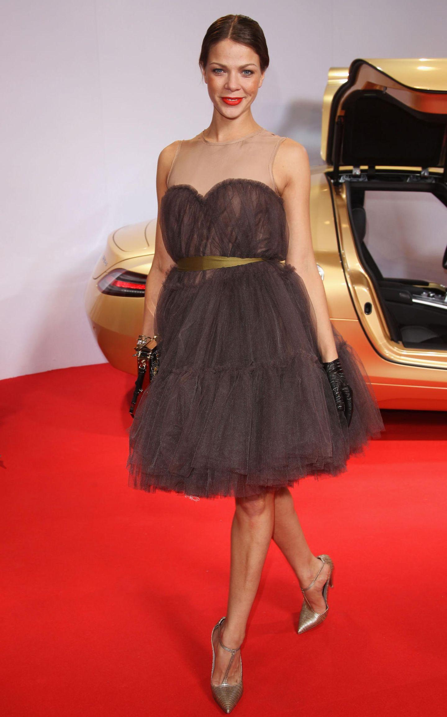 Promi-Looks: Jessica Schwarz auf dem roten Teppich