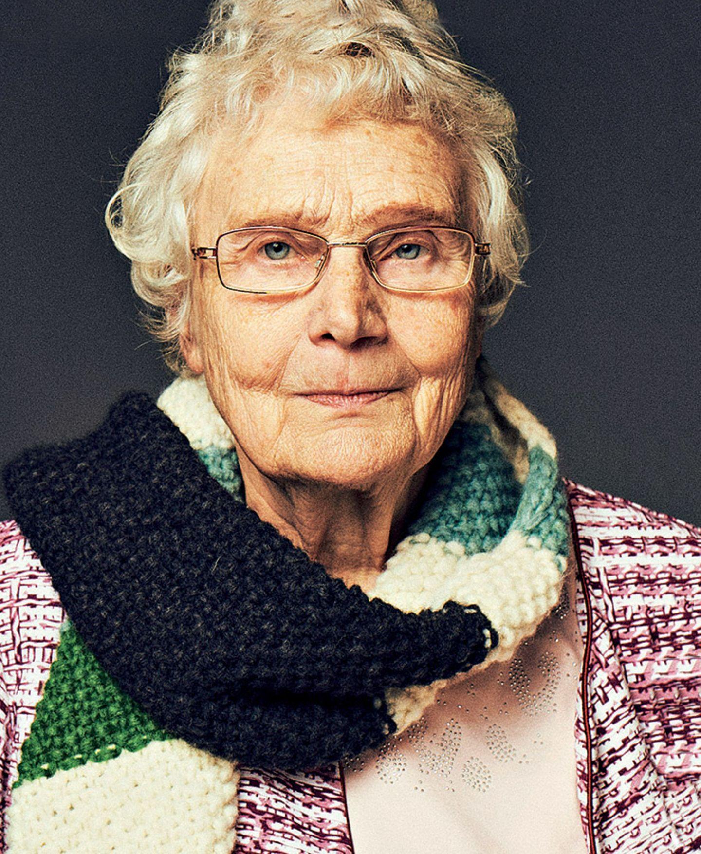 Ergebnis Schal fürs Leben 2019: Ein neuer Rekord!: Evelyne Brix