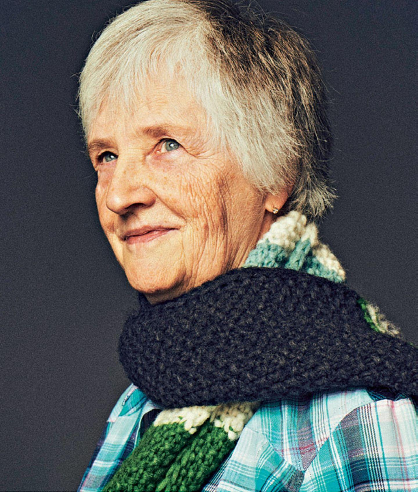 Ergebnis Schal fürs Leben 2019: Ein neuer Rekord!: Helga Schöppenthau