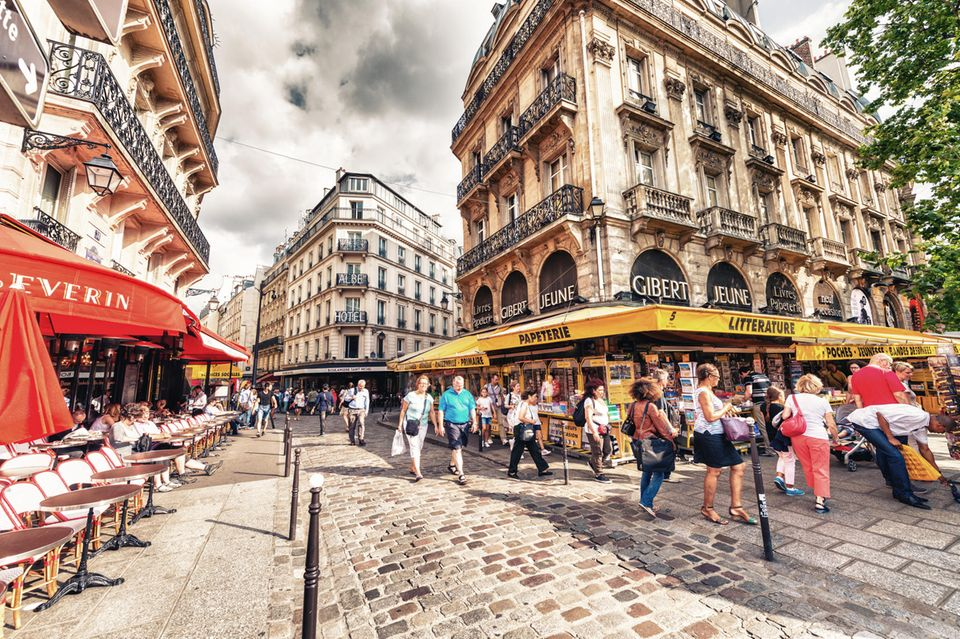 Fußgängerzone in Paris