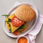 Veggie-Burger mit Tofu-Schnitzel