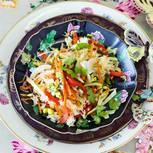 Gebratener Thai-Gemüse-Reis