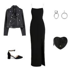 Das kleine Schwarze – der Klassiker unter den Kleidern. Mit hohem Schlitz extrem sexy und allein schon deshalb die ideale Kleideroption für den Tag der Liebe. Die Biker-Jacke sorgt für einen edgy Touch und verleiht dem Look eine extra Portion Coolness. Fehlen nur noch ein hoher Pferdeschwanz, ein sexy Lidstrich und silberne Ohrringe. Und spätestens durch die herzförmige Tasche weiß dann jeder, dass Valentinstag ist.  Kleid von Zalando, um 45 Euro  Schuhe von Asos, um 45 Euro  Lederjacke von Pull & Bear, um 30 Euro  Ohrringe von Luilu, um 55 Euro  Herz-Tasche von Maxwell-Scott, um 60 Euro  Célin, Volontärin