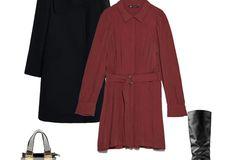 Ein verspieltes Kleid mit Zierfalten und Gürtel machen einiges her – schick, aber auch nicht zu aufgedonnert. Die sexy Lederstiefel pimpen den Look noch etwas auf und halten mich vor allem warm. Mit dem passenden schwarzen Mantel und einer silberfarbenen Tasche als Eyecatcher bin ich für den Abend gerüstet und freue mich auf ein Date mit meinem Freund.  Kleid von Zara, etwa 40 Euro  Stiefel von Zara, etwa 120 Euro  Mantel von Mango für 80 Euro  Tasche von River Island für 30 Euro  Sarah, stellv. SEO-Leitung