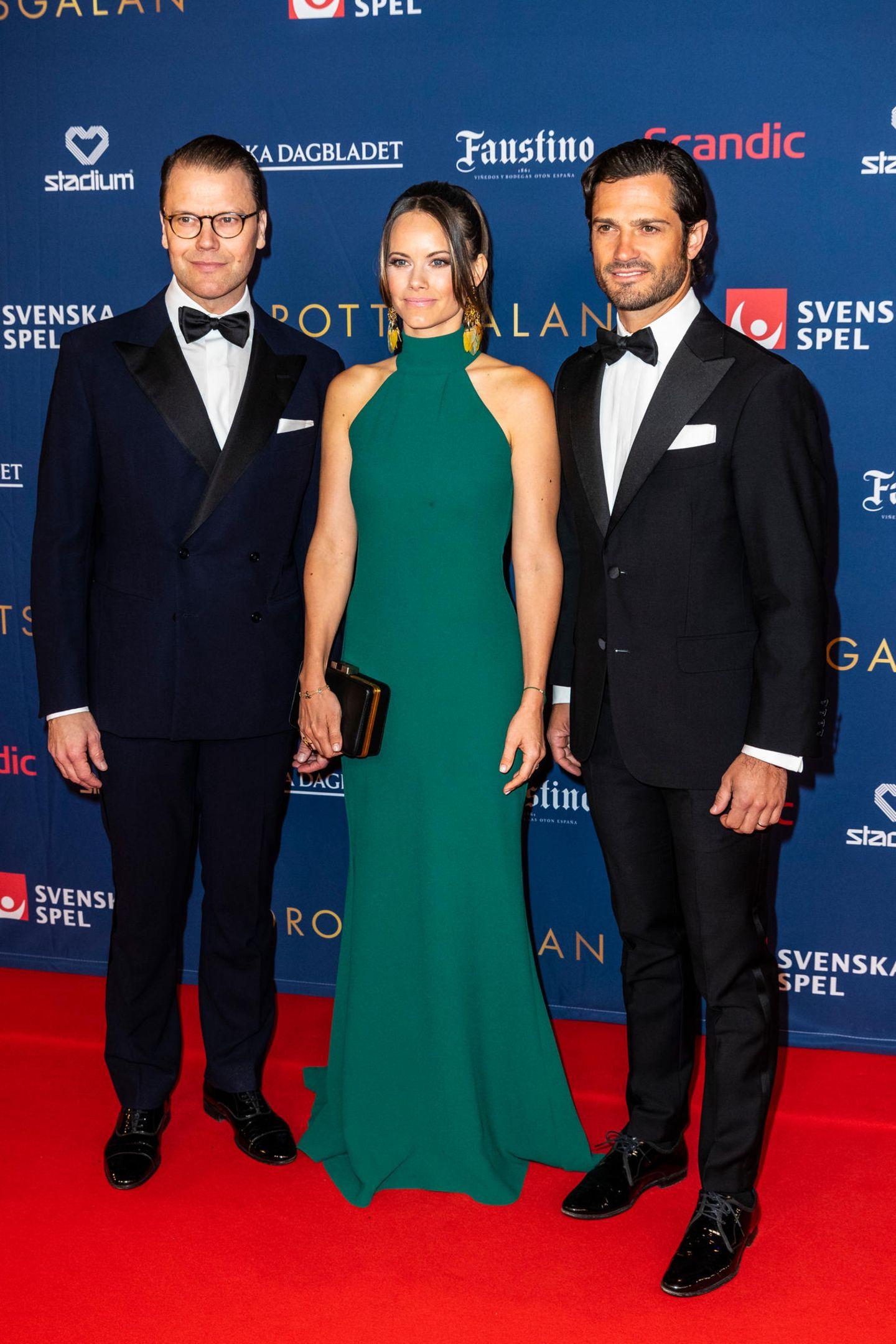 Looks der Royals: Prinzessin Sofia mit Prinz Carl Philip und Pinz Daniel