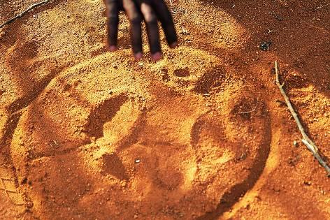 Drakensberge: Südafrika-Safari mal anders: Abdruck im Sand