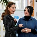 Herzogin Kate ohne ihren Verlobungsring gesichtet
