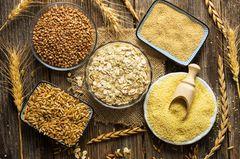 Dinkelflocken: Verschiedene Getreidesorten