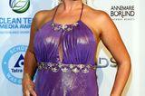 Daniela Katzenberger: posiert im lila Kleid