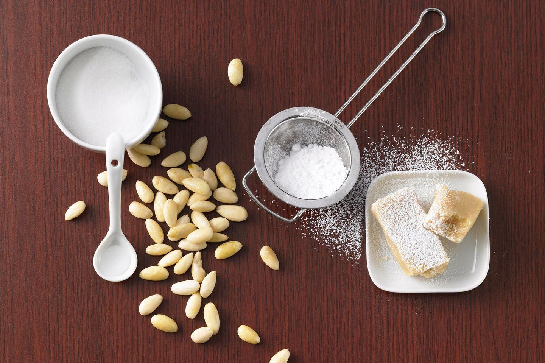 Marzipan-Test: Zutaten für Marzipan