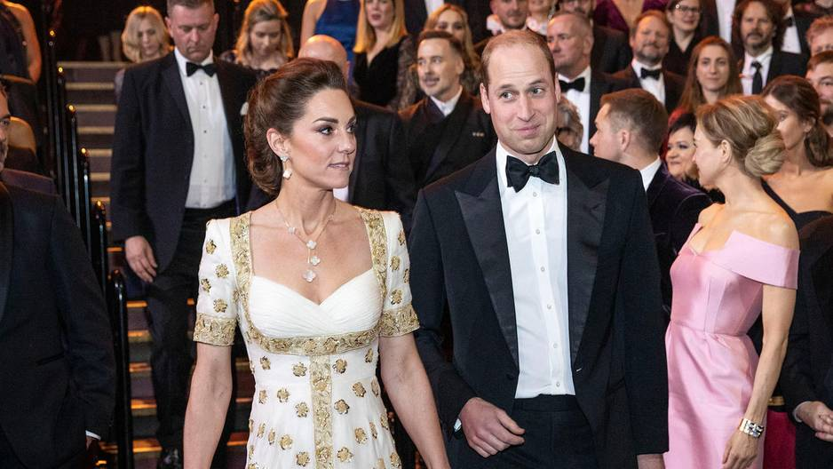Prinz William: Eisiger Empfang bei den BAFTAs