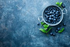 Blähende Lebensmittel: Heidelbeeren