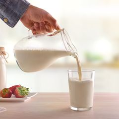 Blähende Lebensmittel: Milch