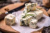 Blähende Lebensmittel: Blauschimmelkäse