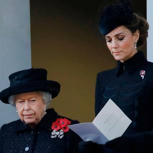 Queen Elisabeth und Kate Middleton