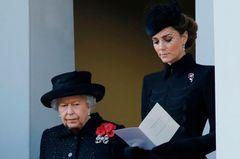 Queen Elisabeth und Kate Middleton