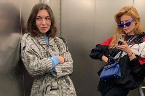 Palina Rojinski und Karina Pavlova