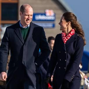 Herzogin Kate: mit Prinz William