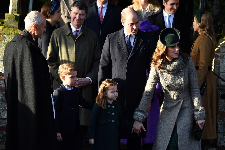 Prinz William, Herzogin Kate, George, Charlotte